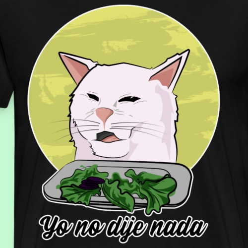El meme del gato 2019 - Camiseta premium hombre