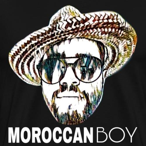 MOROCCAN BOY WHITE - T-shirt Premium Homme