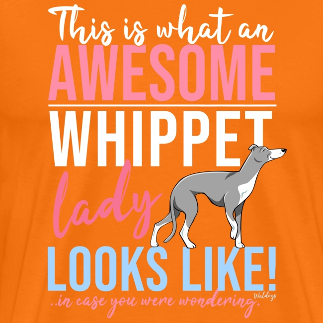 Awesome Whippet Lady VI