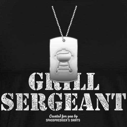 Grill Sergeant Hundemarke - Männer Premium T-Shirt
