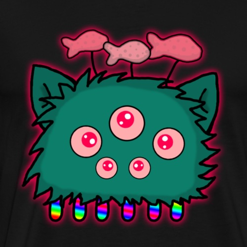 Cat-alien 3 - Men's Premium T-Shirt