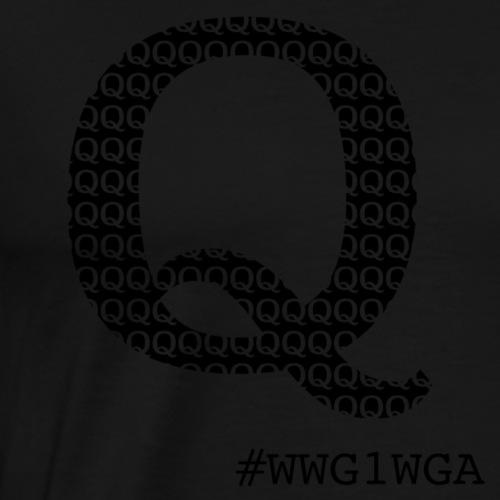 Q wwg1wga - Miesten premium t-paita
