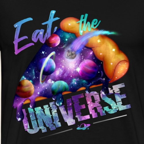 Galaxy Pizza Foodcontest - Camiseta premium hombre