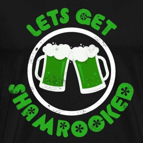 Lets get shamrocked - Männer Premium T-Shirt