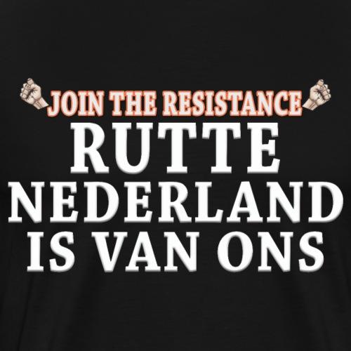 JTR NL is van ons - Mannen Premium T-shirt