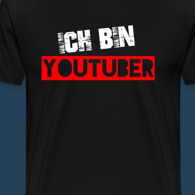 Ich bin Youtuber! (for dark shirts)