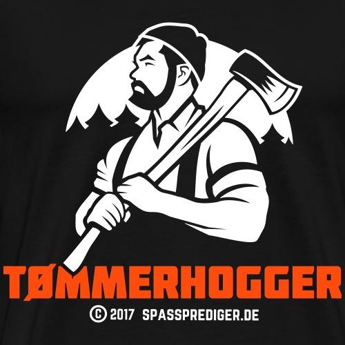 Holzfäller Norwegen Tømmerhogger - Männer Premium T-Shirt