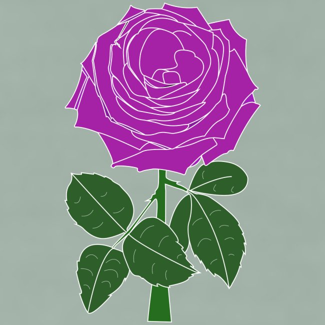 Landryn Design - Pink rose