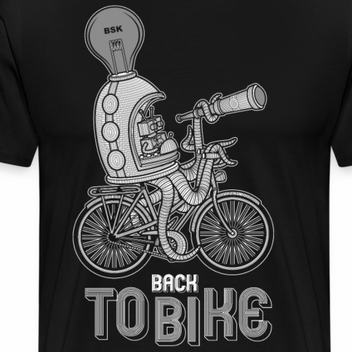 back to bike - T-shirt Premium Homme