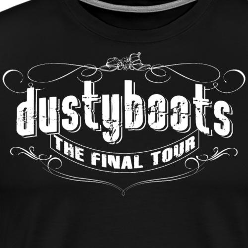 dustyboots final tour - Männer Premium T-Shirt