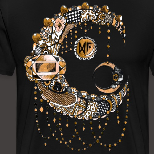 Lune dentelle Doree - T-shirt Premium Homme