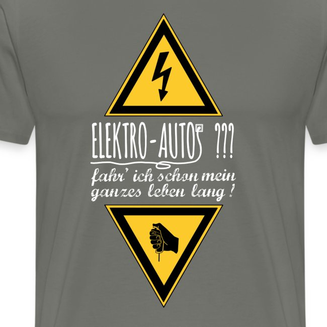 Elektroautos weiss
