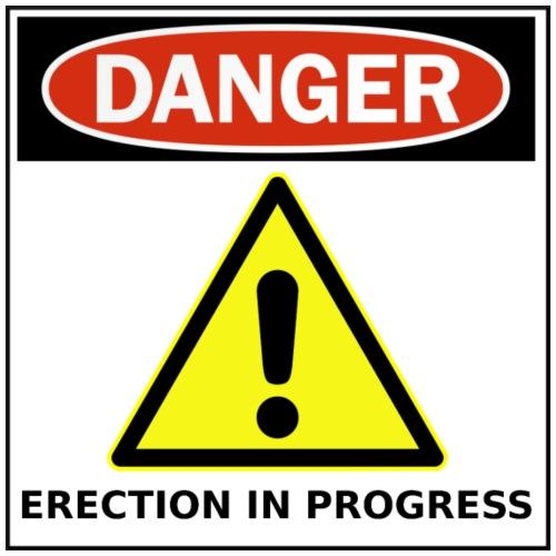 Danger - Funny Sign - Men's Premium T-Shirt