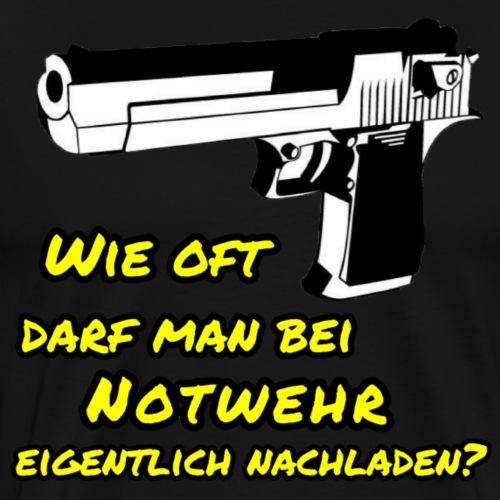 Notwehr - Männer Premium T-Shirt