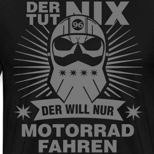 Star Rider Motorrad Motiv - Männer Premium T-Shirt