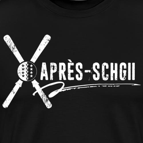 APRÈS-SCHGII - Männer Premium T-Shirt