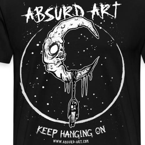 Keep Hanging On von Absurd ART - Männer Premium T-Shirt