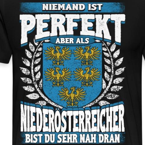 Perfektes Niederösterreich - Geschenk - Männer Premium T-Shirt