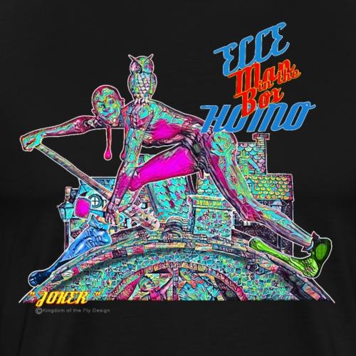 Ecce Homo 153 - JOKER ( in Deep Art ) - Männer Premium T-Shirt