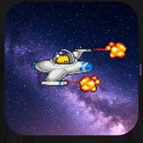 Spaceship - Männer Premium T-Shirt
