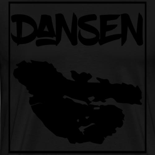 Dansen Karta - Premium-T-shirt herr