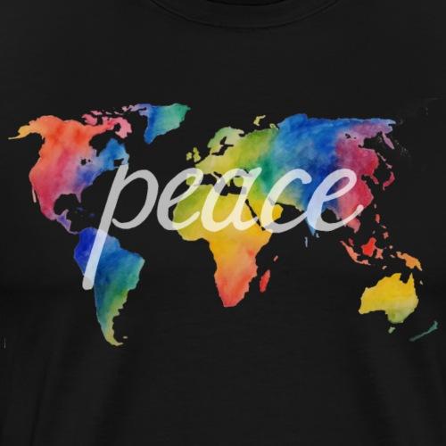 peace on earth 2.1 - Männer Premium T-Shirt