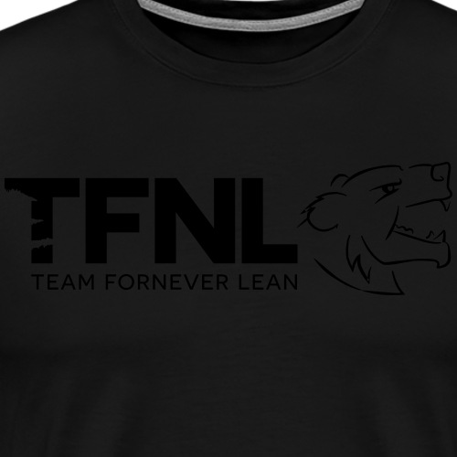 TFNL Blackout Logo Tee - Men's Premium T-Shirt