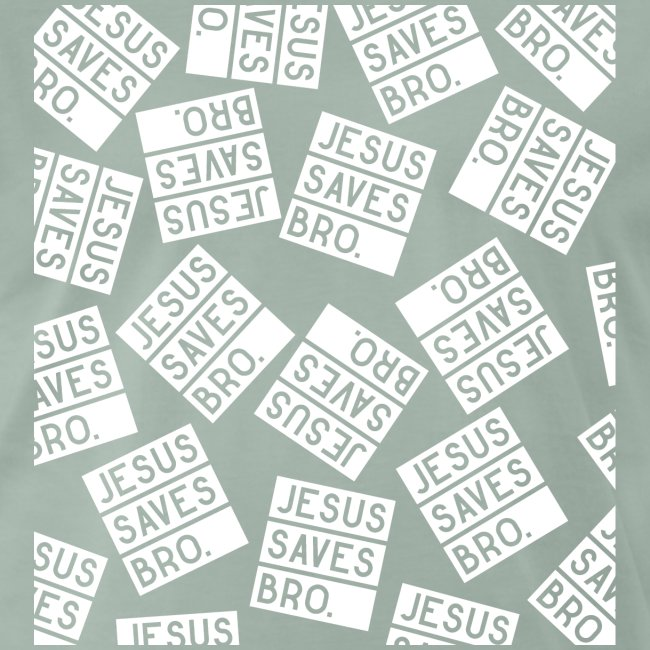 JESUS SAVES BRO - Christlich