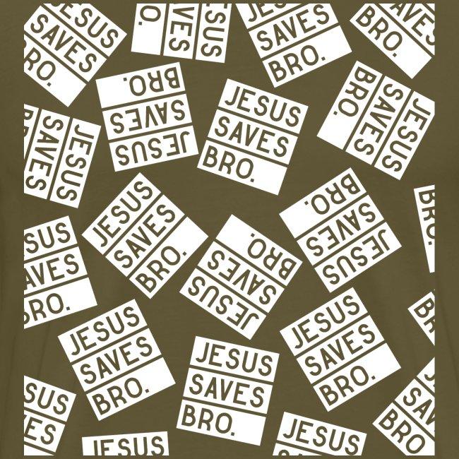 JESUS SAVES BRO - Christlich