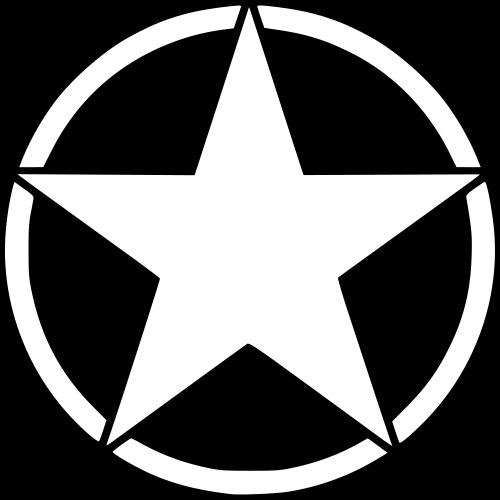 Army Stern - Männer Premium T-Shirt