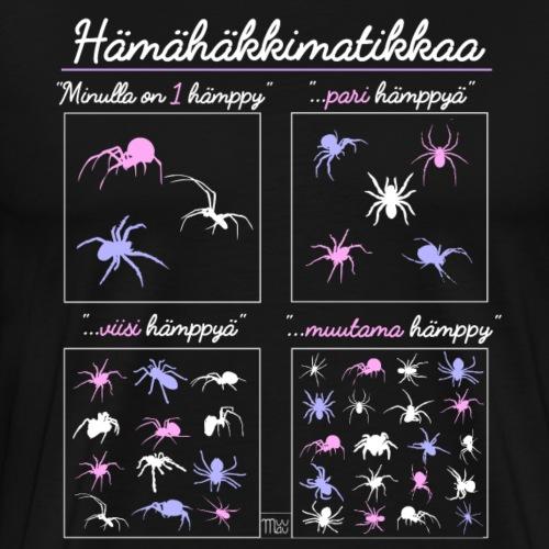 Hämismatikkaa - Miesten premium t-paita