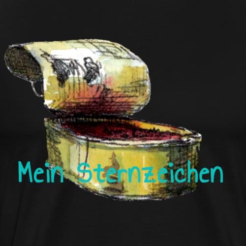 Mein Sternzeichen... Fische - Männer Premium T-Shirt