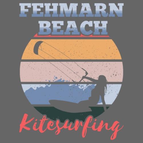 Kitesurfing Fehmarn - Männer Premium T-Shirt