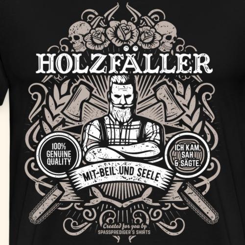 Mit Beil und Seele - Männer Premium T-Shirt