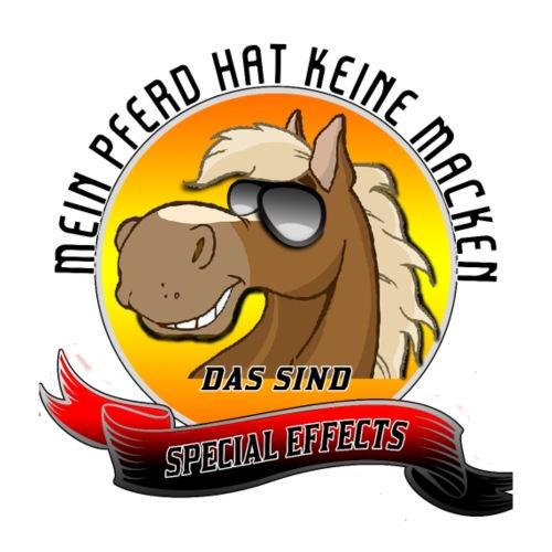Mein Pferd hat keine Macken Special Effects - Männer Premium T-Shirt