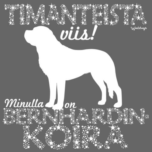 Bernhardinkoira Timantti III - Miesten premium t-paita