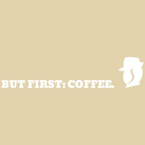 Karl braucht zuerst Kaffee - Männer Premium T-Shirt