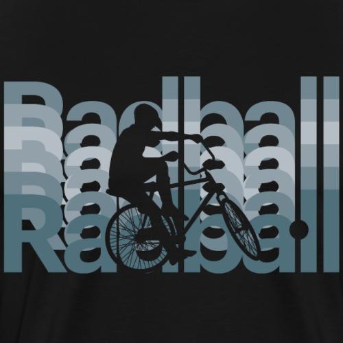 Radball | Typo Art - Männer Premium T-Shirt