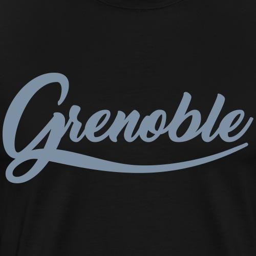 grenoble, old school - T-shirt Premium Homme