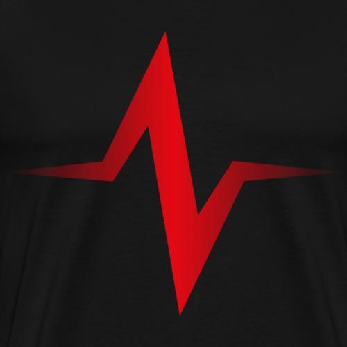 Schallwelle - Männer Premium T-Shirt