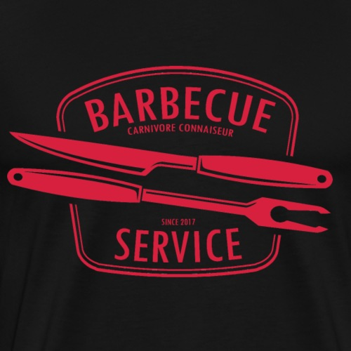 Barbecue Service Grill - Männer Premium T-Shirt