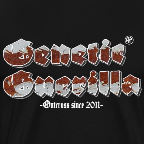 Genetic Guerilla Weiss - Männer Premium T-Shirt