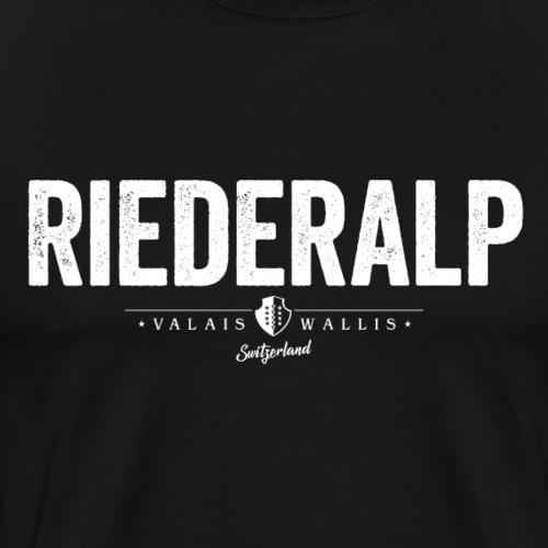 RIEDERALP - Männer Premium T-Shirt
