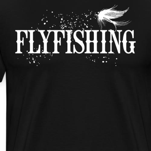 Flyfishing Fliegenfischen Köder Fliege - Männer Premium T-Shirt