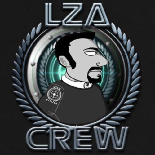 LZA CREW - Maglietta Premium da uomo