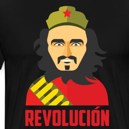 El Ché nació en 1928 Un ilustre guerrillero - Camiseta premium hombre