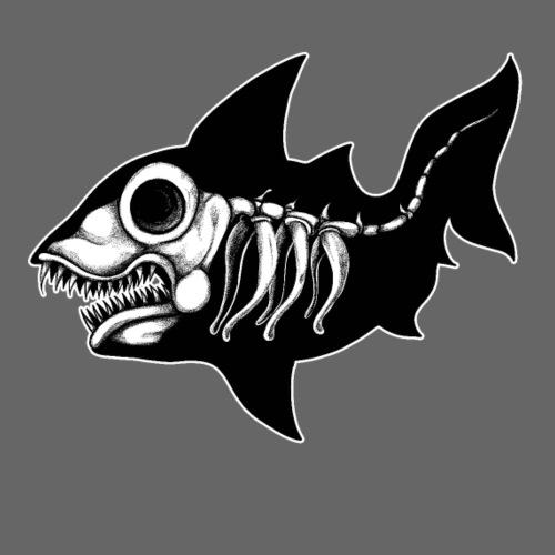Shark Skeleton - Camiseta premium hombre