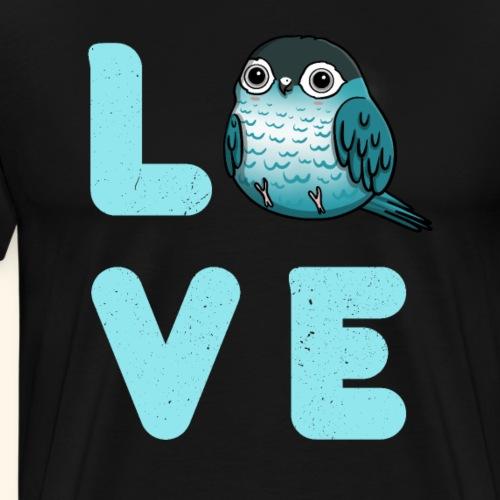 Papagei Sittich Vogel Geschenk Für Tierfreunde - Männer Premium T-Shirt