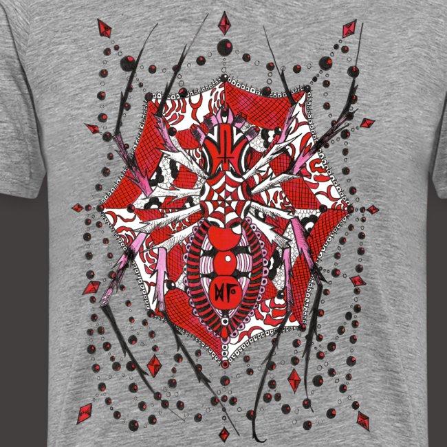 Spider Dentelle Red