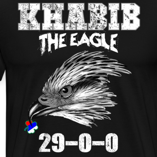 KHABIB TIME campeón MMA del peso ligero 29-0 - Camiseta premium hombre